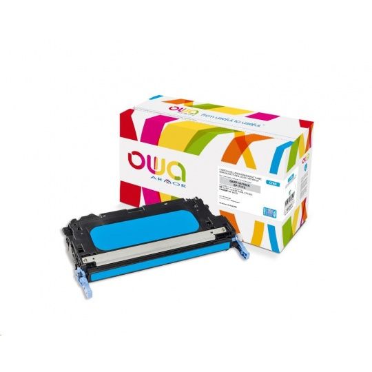 OWA Armor toner pro HP Color Laserjet 3600 CP3505, 8000 Stran, Q6471A JUMBO, modrá/cyan