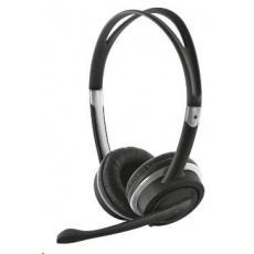 TRUST Sluchátka s mikrofonem Mauro USB Headset