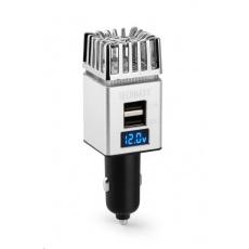 Technaxx čistička vzduchu do auta do zásuvky zapalovače, 2x USB