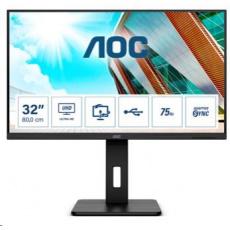 """AOC MT VA LCD WLED 31,5"""" U32P2CA - VA panel, 3840x2160, 2xHDMI, DP, USB-C, USB, repro, pivot"""