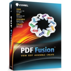 Corel PDF Fusion 1 Lic ML (1-10) ESD English/German