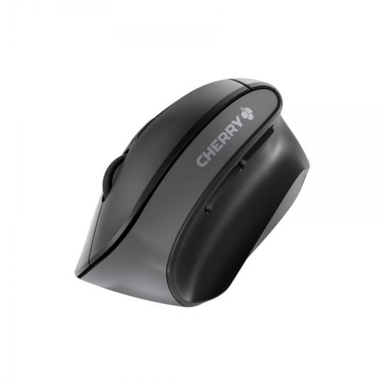 CHERRY myš MW 4500 bezdrátová, vertikální, ergonomická, 1200 DPI, nano USB, 2xAAA, černá