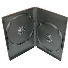 100ks pouzdro na 2x DVD, jewel, tloušťka 14mm