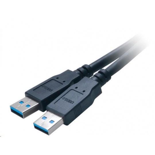 AKASA adaptér MB externí, na 2x USB 3.0, kabel, 30 cm