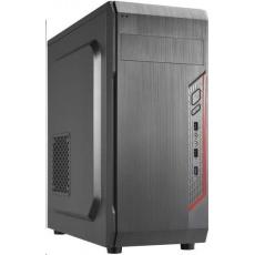CRONO skříň MT-X5 MidiTower bez zdroje, black