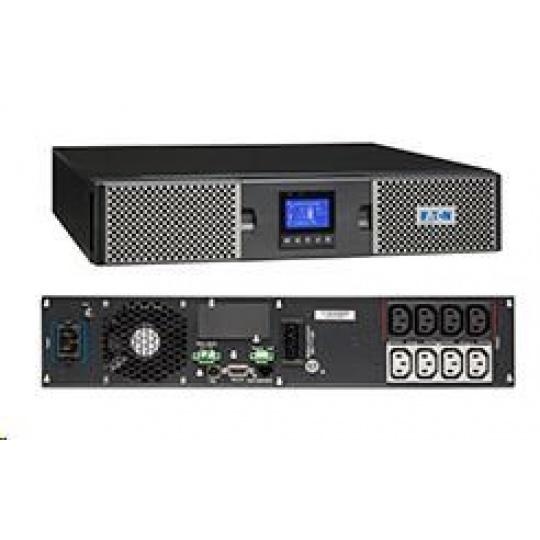 Eaton 9PX 1000i RT2U Netpack, UPS 1000VA / 1000W, LCD, rack/tower, se síťovou kartou