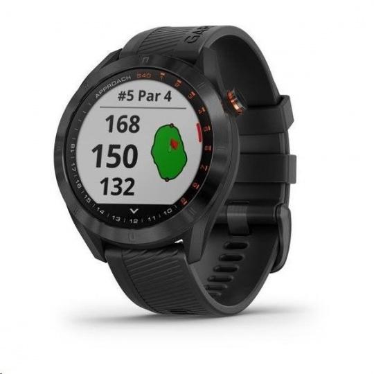 Garmin Golfové GPS hodinky Approach S40 Premium Black