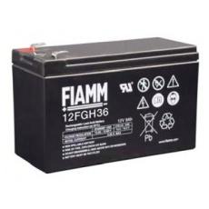 Baterie - Fiamm 12 FGH 36 (12V/9,0Ah - Faston 250), životnost 5let