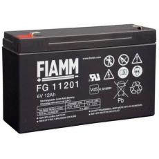 Baterie - Fiamm FG11201 (6V/12,0Ah - Faston 187), životnost 5let
