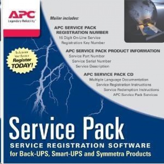 APC Service Pack 1 Year Warranty Extension for Accessories, AC-02
