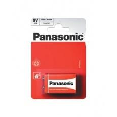 PANASONIC Zinkouhlíkové baterie Red Zinc 6F22RZ/1BP EU 9V 9V (Blistr 1ks)