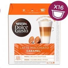 NESCAFÉ Dolce Gusto® Latte Macchiato Caramel kávové kapsle 16 ks