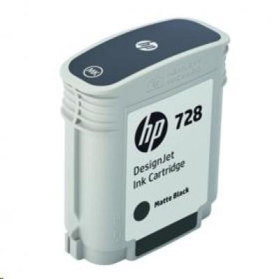 HP 728 69-ml Matte Black DesignJet Ink Cartridge