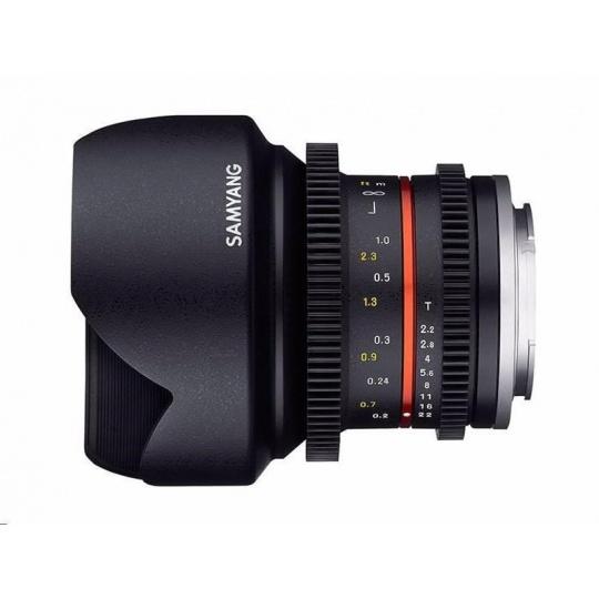 Samyang objektiv 12mm F2.0 NCS CS Fuji X