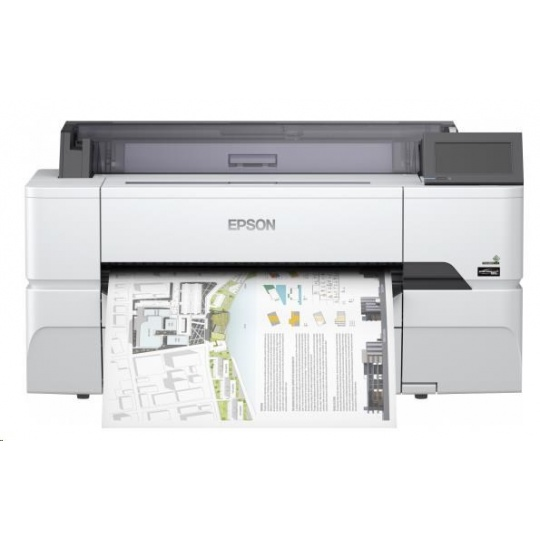 EPSON tiskárna ink SureColor SC-T3400N, 4ink, A1, 2400x1200 dpi, USB 3.0, LAN, WIFI, Ethernet,