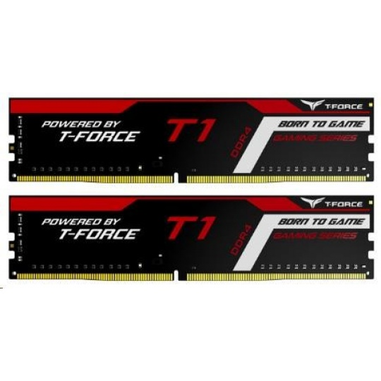 DIMM DDR4 16GB 2400MHz, CL15, (KIT 2x8GB), T-FORCE T1 Gaming Memory