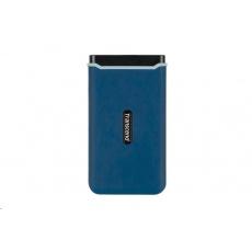 TRANSCEND externí SSD ESD370C 1TB, USB 3.1 Gen.2, modrá