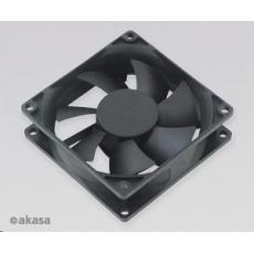 AKASA ventilátor DFS802512L, 80 x 25mm, kluzné ložisko, tichý