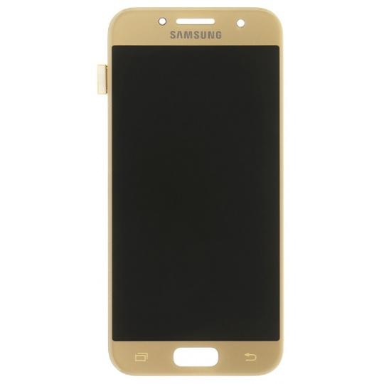 Samsung Galaxy A3 2017 (A320) - výměna LCD displeje (zlatý)