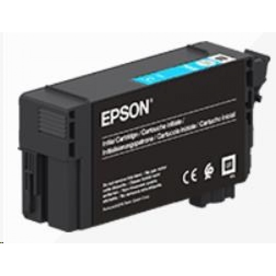 EPSON ink bar Singlepack UltraChrome XD2 Cyan T40C240(26ml)