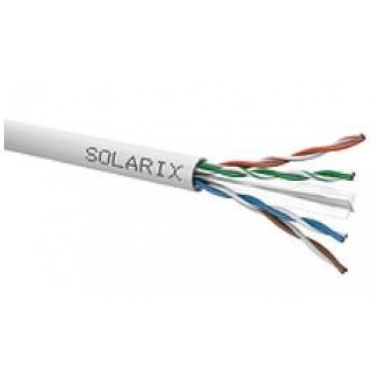 Instalační kabel Solarix UTP, Cat6, drát, PVC, box 305m SXKD-6-UTP-PVC