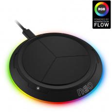 CONNECT IT bezdrátová nabíječka NEO QiRGB, herní, 10 W, černá