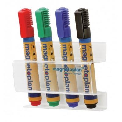Magnetický držák popisovačů Magnetoplan acryl