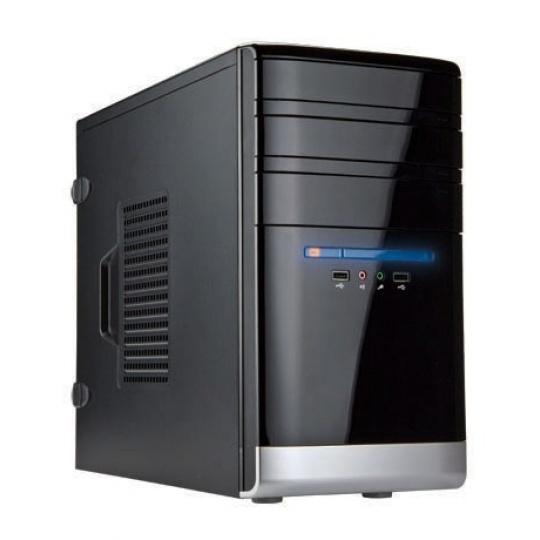 IN WIN skříň EM038 mATX 350W 80+/ USB 3.0/ Audio/ toolfree, Black