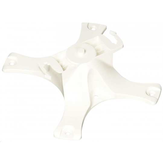 Aruba Access Point Mount Kit (basic, flat surface). Contains 1x flat surface wall/ceiling mount bracket (color white).