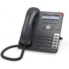Snom IP telefon D712, 4 SIP, 4-řádkový displej, 10/100/1000 Mbps, PoE