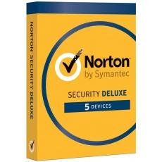 NORTON SECURITY DELUXE CZ  1 uživatel na 5 zařízení na 2 roky ESD