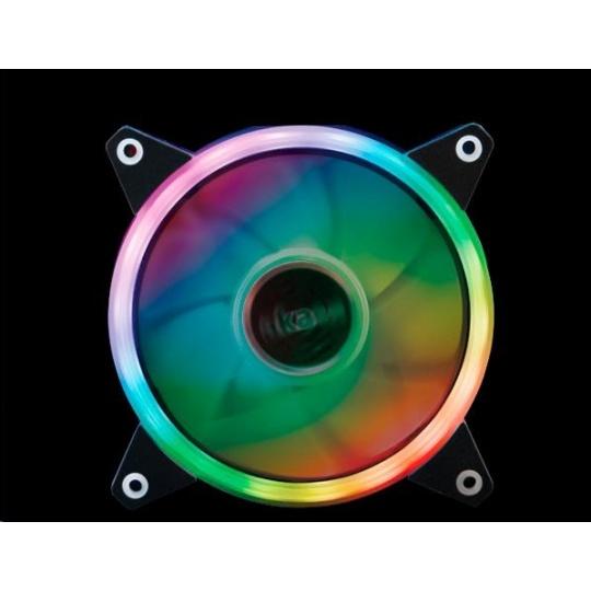 AKASA ventilátor Vegas R7, 120x120, FDB, 23.8 dBA, 3 pin, RGB 12V