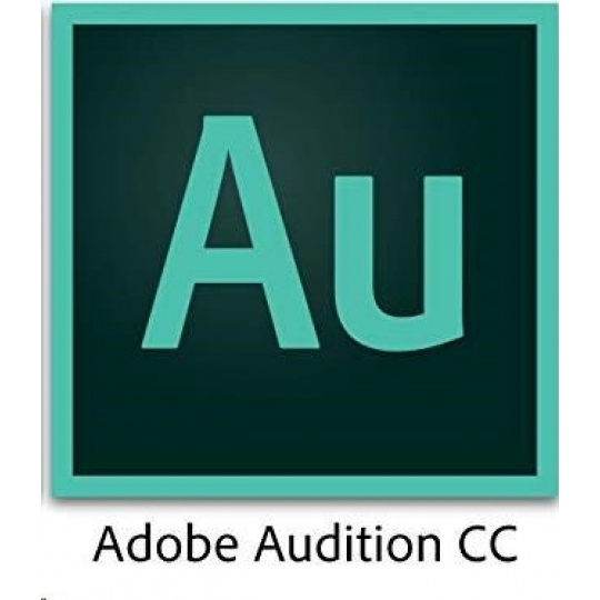 ADB Audition CC MP Multi Euro Lang TM LIC SUB RNW 1 User Lvl 3 50-99 Month