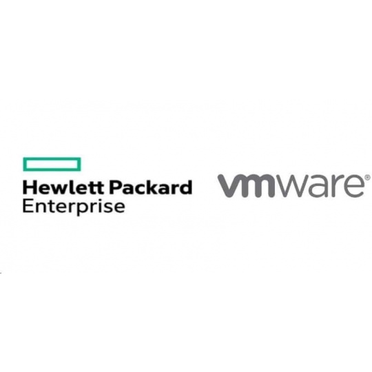 HP SW VMware vSphere Standard to Enterprise Plus Upgrade 1 Processor 5yr E-LTU
