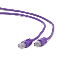 GEMBIRD Kabel UTP Cat5e Patch 0,5m, fialový
