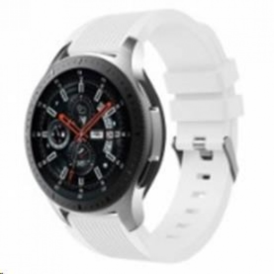 eses silikonový řemínek bílý pro samsung galaxy watch 46mm/samsung gear s3