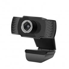 """BAZAR C-TECH webkamera CAM-07HD, 720P, mikrofon, černá, """"POŠKOZENÝ OBAL"""""""