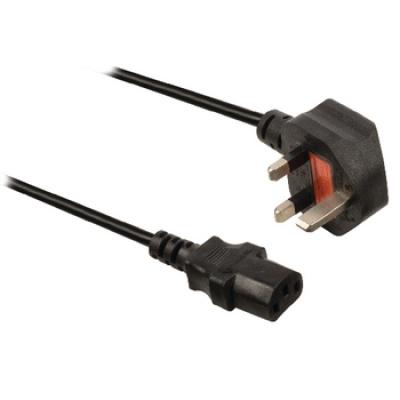 Vallueline napájecí UK kabel IEC-320-C13 1.8 m černý - VLEP11100B18M