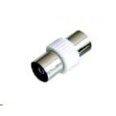 PREMIUMCORD TV anténní spojka F/F (IEC 75 Ohm)