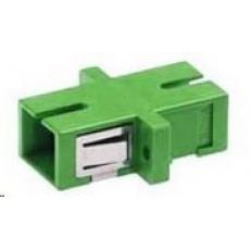 Optická spojka singlemode simplex SC-SC, APC