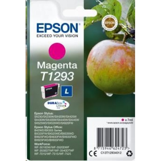 "EPSON ink bar Singlepack ""Jablko"" Magenta T1293 DURABrite Ultra Ink (7 ml)"