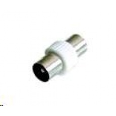 PREMIUMCORD TV anténní spojka M/M (IEC 75 Ohm)