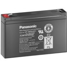 Baterie - Panasonic UP-VW0645P1 (6V/9Ah-45W/čl. - Faston 250), životnost 6-9 let