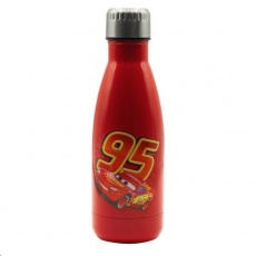 Puro Disney láhev z nerezové oceli CARS, single wall, 500ml Red