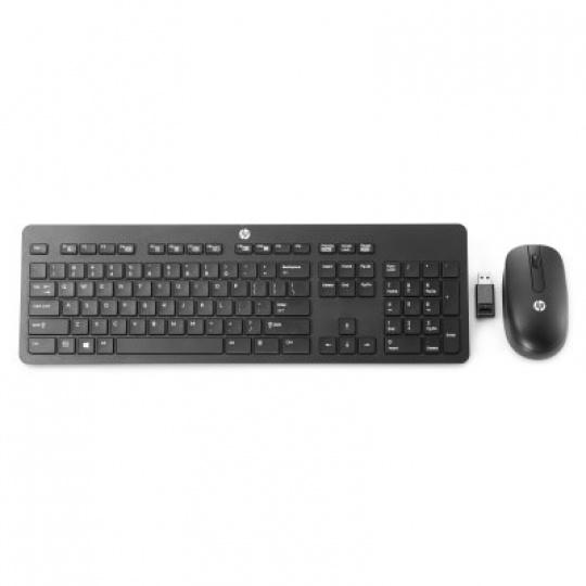 HP Wireless Business Slim Keyboard and Mouse - UK English