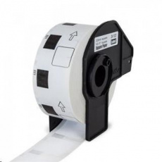 PRINTLINE kompatibilní s Brother DK-11221, papírové bílé, čtvercové , 23 x 23 mm, 1000 ks