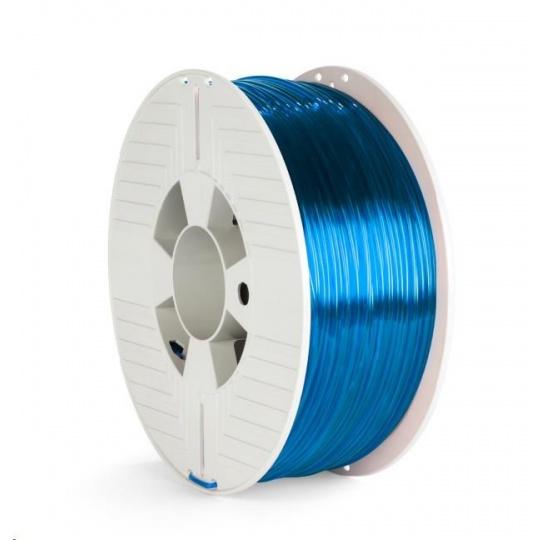 VERBATIM 3D Printer Filament PET-G 2.85mm, 123m, 1kg blue transparent
