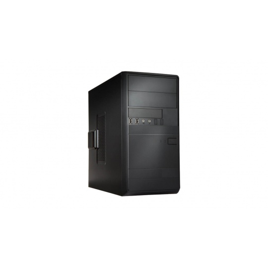 IN WIN skříň EFS054, 2x USB 3.0 + 2x USB 2.0, Mini Tower, bez zdroje, Black