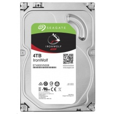 SEAGATE HDD IRONWOLF (NAS) 4TB SATAIII/600, 5900rpm, 64MB cache