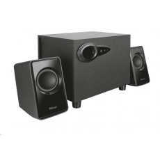 TRUST Reproduktory 2.1 Avora Subwoofer Speaker Set - black